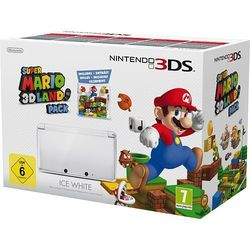 Nintendo 3DS Ice White & Super Mario 3D Land