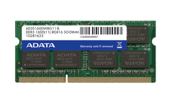 Adata Premier 16GB (2x8GB) DDR3-1600MHz SO-DIMM Dual Kit