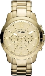 Fossil Grant Chronograph FS4724 Stainless Watch Mens Gold Steel -