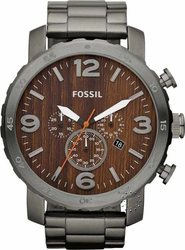 Fossil Mens Watch Chronograph Stainless Steel Bracelet JR1355