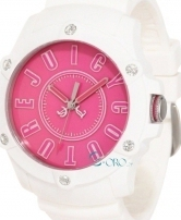 Juicy Couture Crystals White Rubber Strap 1900908