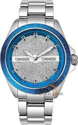 Breeze City Lights Blue Steel Watch 610021.3