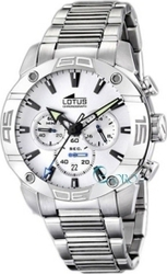 Lotus Stainless Steel Bracelet Chronograph L15643-1
