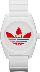 Adidas Analogue Unisex Santiago 42mm Plastic Strap