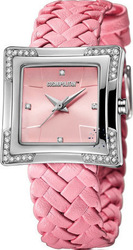 Cosmopolitan Crystal Pink Leather Strap CM17303