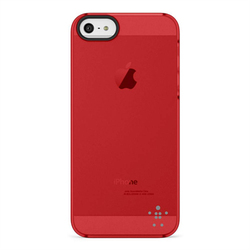 Belkin Shield Sheer Matte Red (iPhone 5/5s/SE)