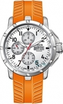Venus Genesis Automatic Orange Rubber Chronograph VE-1301A2-23-R8