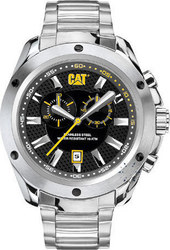 Caterpillar Stream Chrono Stainless Steel Bracelet