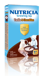 Nutricia Growing Up Vanilla & Chocobites 250gr