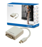 LogiLink mini DisplayPort male - DVI-I female (CV0037)