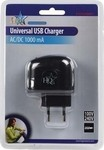 HQ USB Wall Adapter Μαύρο (P.SUP.USB401)