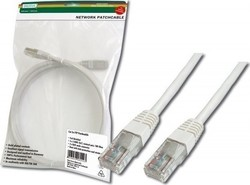 Digitus U/UTP Cat.5e Cable 1m Λευκό (DK-1511-010/WH)