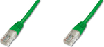Digitus U/UTP CAT5e Cable 0.5m Πράσινο (DK-1511-005/G)