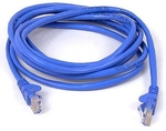 Belkin U/UTP Cat.5e Cable 2m Μπλε (A3L791CP02MBLHS)
