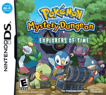 Pokemon Mystery Dungeon Explorers Of Time DS
