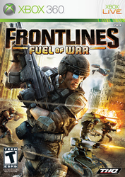 Frontlines Fuel Of War XBOX 360