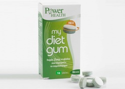 Power Health My Diet Gum 10 ταμπλέτες