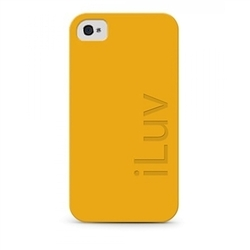 iLuv Mineral Silicone Yellow (iPhone 4/4S)