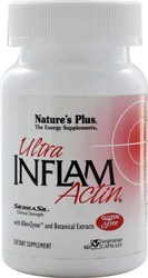 Nature's Plus Ultra Inflam Actin 60 φυτικές κάψουλες