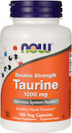 Now Foods Taurine 1000mg 100 κάψουλες