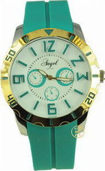 Angel New York Green Rubber Strap AR.2004/GR