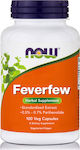 Now Foods Feverfew 400mg 100 κάψουλες
