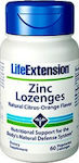 Life Extension Zinc Lozenges 24mg 75 παστίλιες