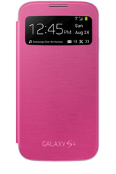Samsung Flip S-View Cover Pink (i9505 Galaxy S4)