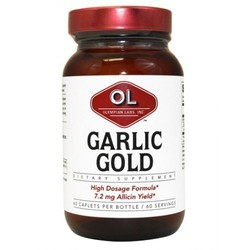 Olympian Labs Garlic Gold, 600 mg 60 tabs