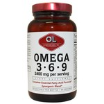 Olympian Labs Omega 3-6-9 2400mg 120 μαλακές κάψουλες
