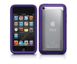 XtremeMac Microshield Accent Purple (iPod Touch 5th Gen)