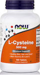 Now Foods L-Cysteine 500mg 100 ταμπλέτες