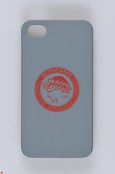 iSmart Rubberized Olympiakos Gray (iPhone 5/5s/SE)