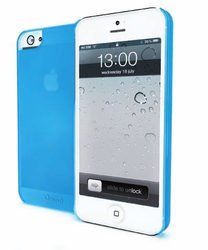 Muvit iMatt Ultra Thin Blue (iPhone 5/5s/SE)
