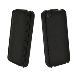4-OK Klap Case Black (iPhone 5/5s/SE)