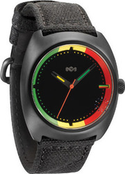 The House Of Marley Transport Rasta Black Fabric Strap WM-JA001-RA