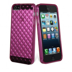 Muvit Flexy Diamonds miniGEL Pink (iPhone 5/5s/SE)