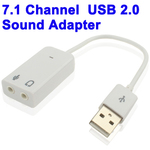 OEM USB 2.0 External 7.1 Sound Card