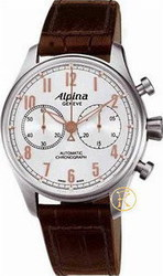 Alpina Aviation Startimer Classics Mens Chronograph AL-860SCR4S6