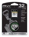 PNY Elite Performance SDHC 32GB U1