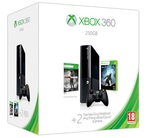 Microsoft Xbox 360 250GB & Tomb Raider & Halo 4