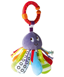 Mamas & Papas Babyplay - Linkie Toy Octopus