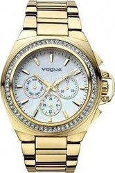 Vogue Etoile Crystal Gold Stainless Steel Bracelet 97003.1