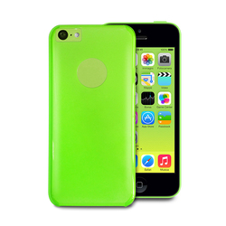 Puro Crystal Cover Green (iPhone 5C)