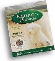 NATURE'S HARVEST PUPPY CHICKEN AND RICE 10X395GR