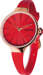 Hoops Cherie Red Rubber Strap 2483LG-04