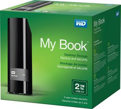 Western Digital My Book 2TB (WDBFJK0020HBK)
