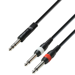 Adam Hall Audio Cable 6.3mm male - 2x 6.3mm male 3m (K3YVPP0300)