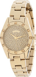 DKNY Round Pave Crystal Dial Watch NY8888