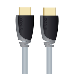 Sinox HDMI Cable with Ethernet HDMI male - HDMI male 3m (SXV1203)